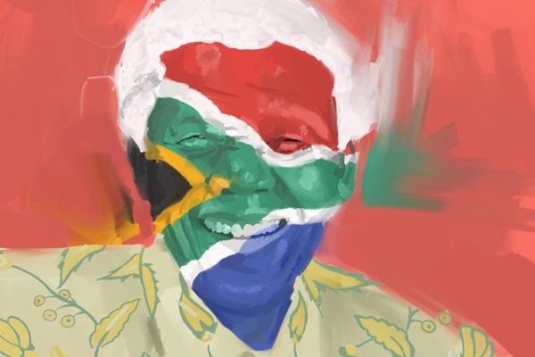 Feliz cumpleaños Mandela / Happy birthday Mandela